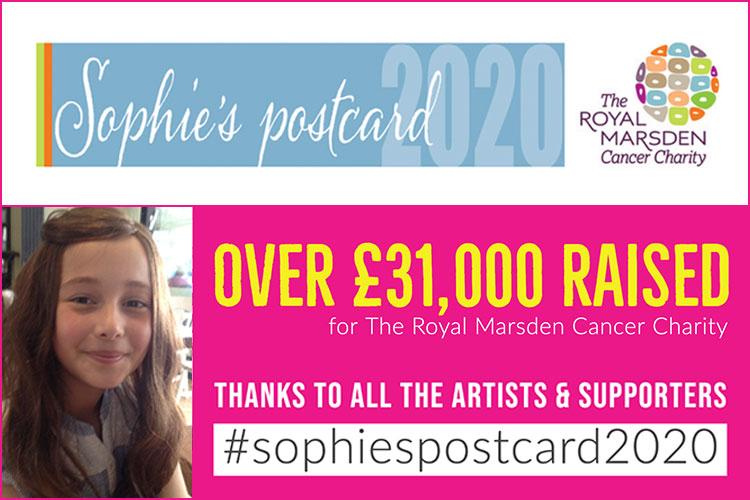 Sophie's Postcard 2020 image on Bournefree Live news website