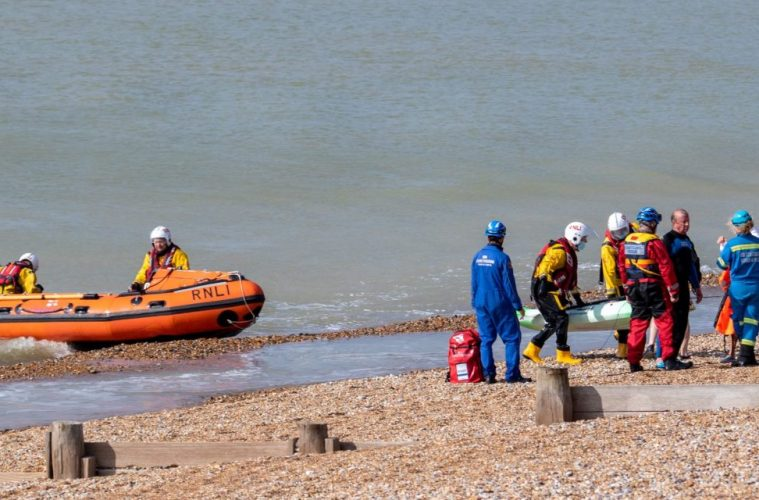 Eastbourne RNLI image on Bournefree Live news website