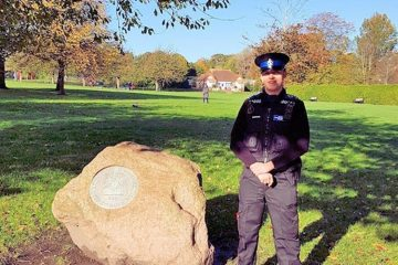 PCSO Dan Brian-Davis image on Bournefree Live news website