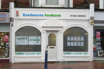 Eastbourne Foodbank image on Bournefree Live news website