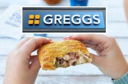 Greggs Festive Bake image on Bournefree Live news website