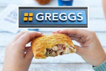 Greggs Festive Bake image on Bournefree Live news website