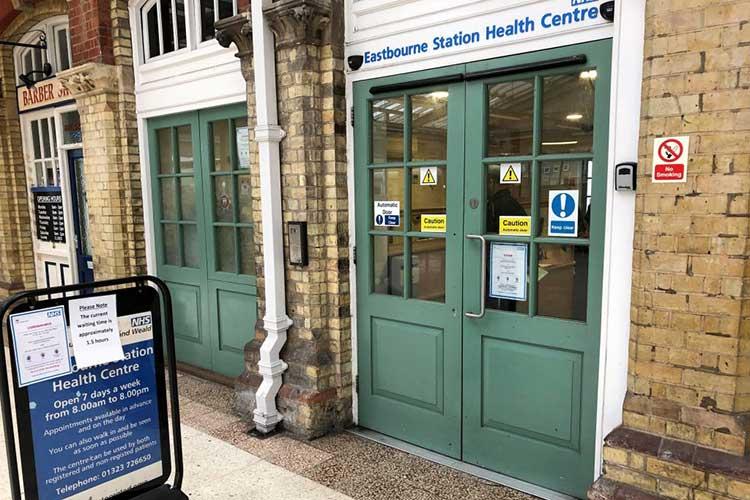 NHS Walk in Centre image on Bournefree Live news website