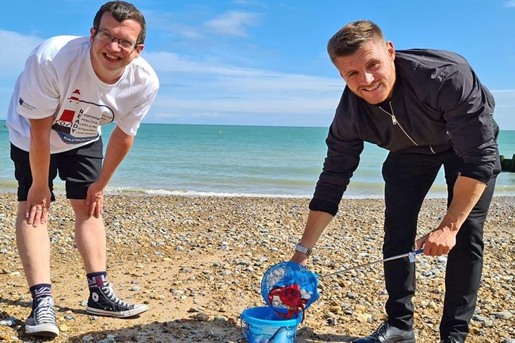 Stephen Holt and Luke johnson image on Bournefree Live news website