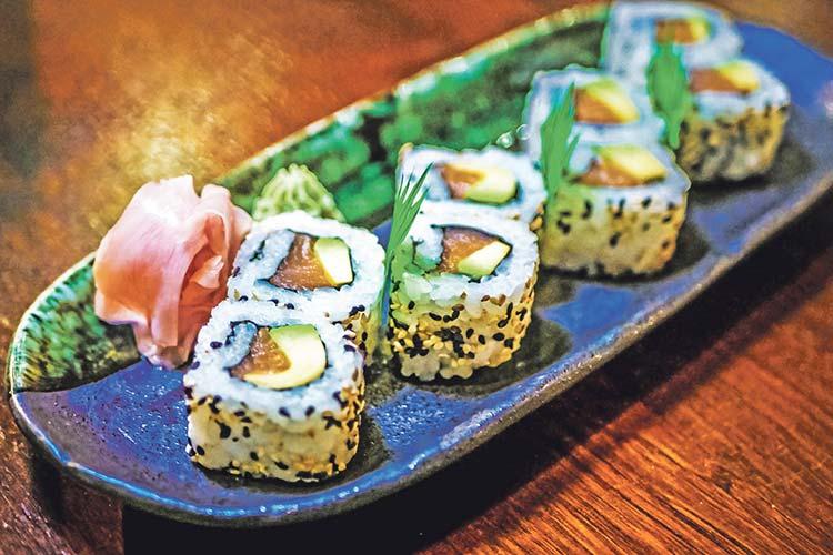 Yoku Sushi food image on Bournefree Live news website