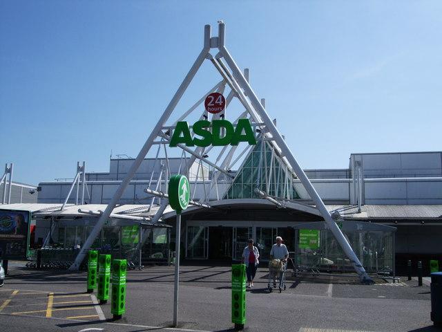 ASDA Eastbourne for Bournefree website