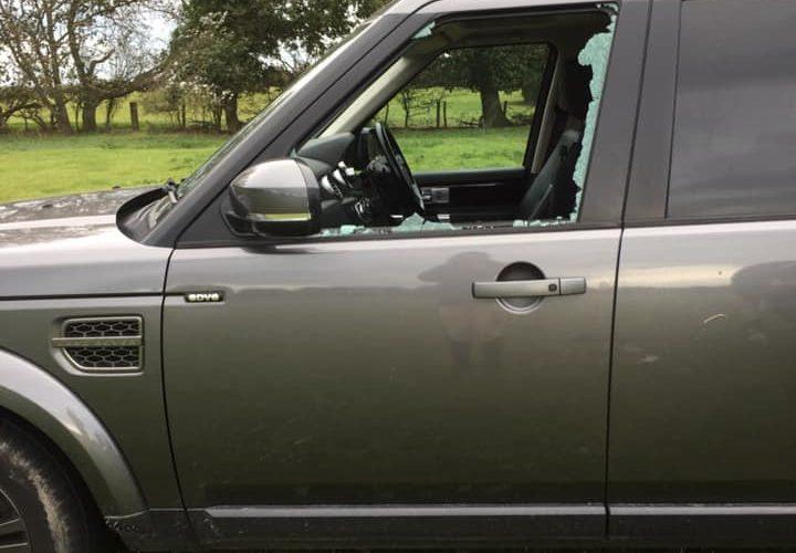 Hankham car window smashed on Bournefree website