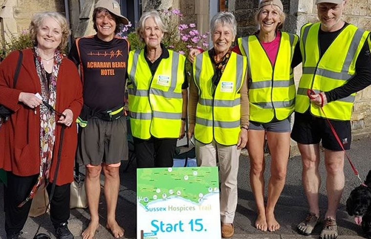 Sussex Hospices Trail on Bournefree website