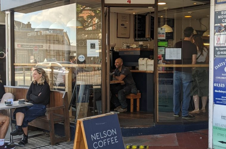 Nelson Coffee in Terminus Road for Bournefree magazine website