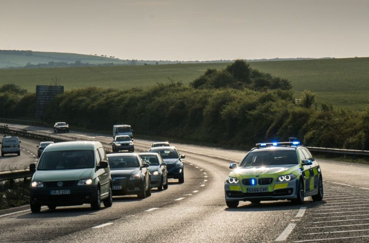 New roads policing page set up on Sussex Police website on Bournefree website