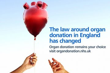 DGH Organ Donation Week image on Bournefree Live news website