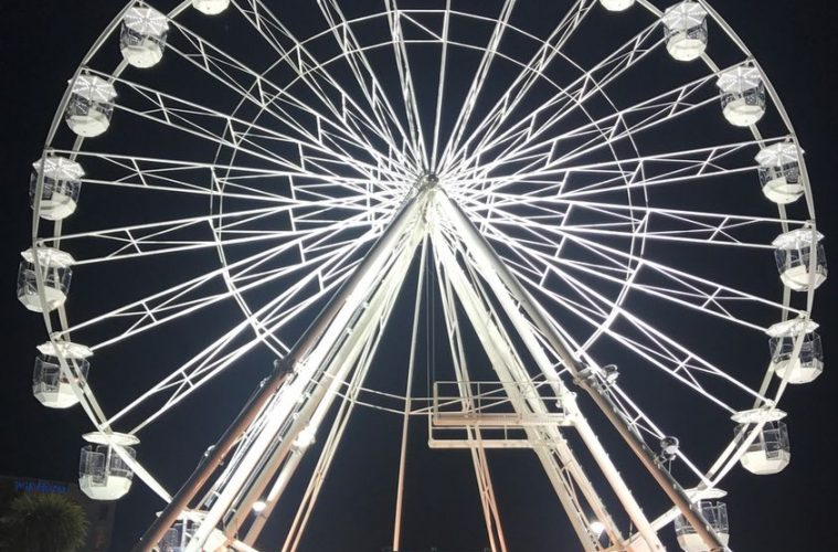 The Big Wheel is back on Eastbourne seafront on Bournefree website