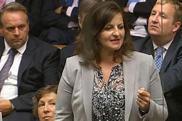 Caroline Ansell MP image on Bournefree Live news website