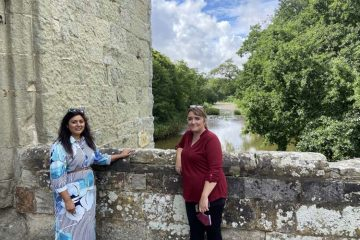 Nus Ghani at Michelham Priory image on Bournefree Live news website