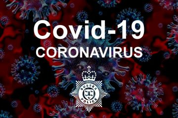 Sussex Police urge the public to continue to prevent the spread of Covid on Bournefree website