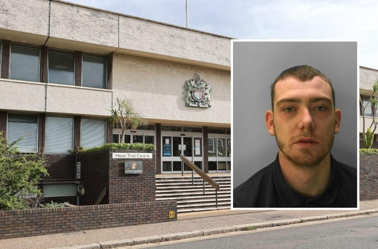 Jordan Ross attacked woman and robbed couple in Eastbourne for |Bournefree Magazine website