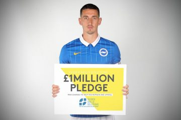 £1million pledge gets support from Brighton and Hove Albion for Bournefree website
