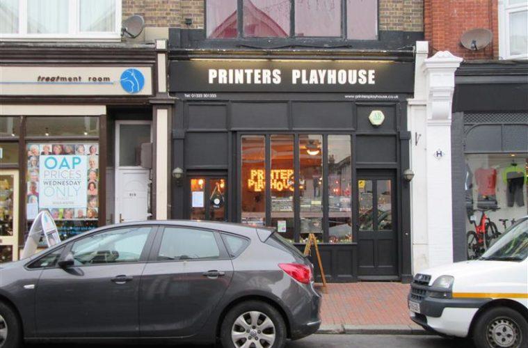 Printers Playhouse on Eastbourne Bournefree website