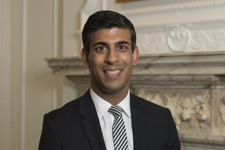 Chancellor Rishi Sunak image on Bournefree Live news website