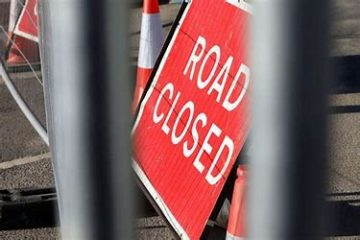Road Closed image on Bournefree Live news website