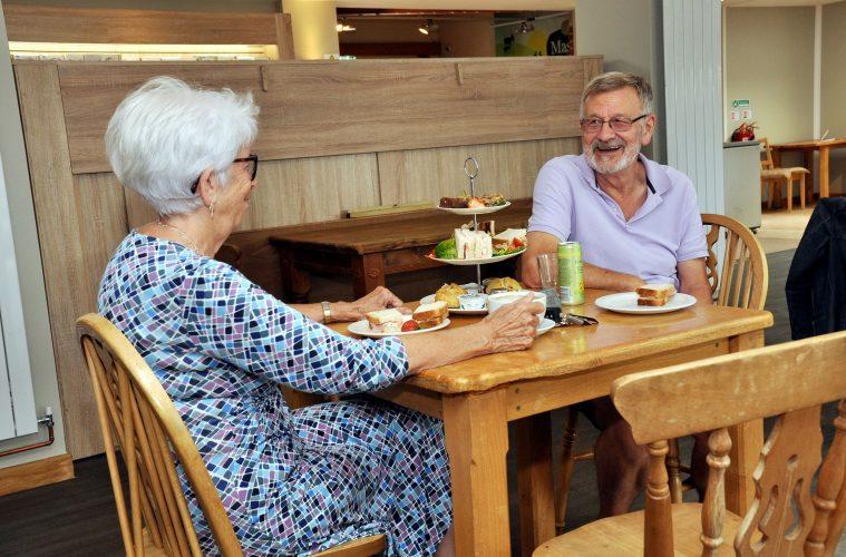 Sharnfold Farm tea room image on Bournefree Live news website