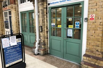 Walk In Centre at Eastbourne Railway Station on Bournefree website