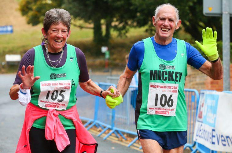 Sunday's Beachy Head Marathon will go ahead despite pandemic on Bournefree website