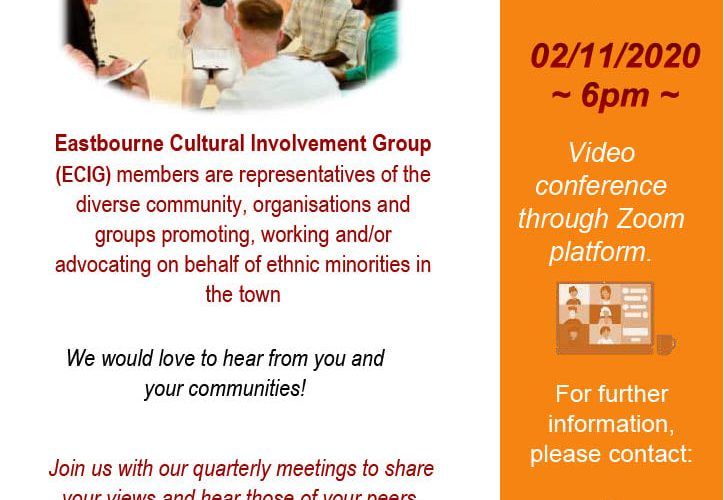 Eastbourne Cultural Involvement Group on Bournefree website