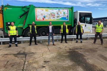 Eastbourne Mayor gives big thank you to the town's refuse and cleaning teams on Bournefree website
