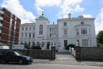 Esperance Hospital site in Eastbourne on Bournefree website