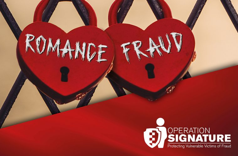 Fall for the person not the profile - romance fraud campaign launches today on Bournefree website