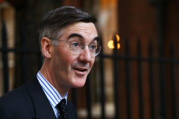JACOB Rees Mogg on Bournefree website