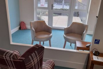 Eastbourne care home opens new visiting pod during pandemic on Bournefree website