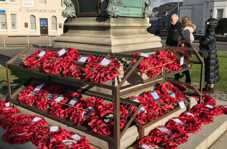 Virtual Remembrance Sunday Service to be Broadcast Online on Bournefree website