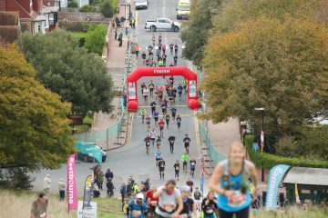 Beachy Head Marathon Goes the Distance with Covid Secure Race on Bournefree website