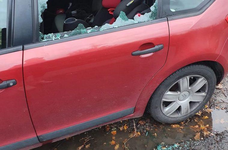Car windows smashed on Bournefree website