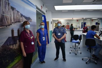on Bournefree website Intensive care worker invites public to make eye shields for patients in Eastbourne