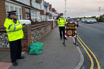 Police in Eastbourne step up patrols during October half term on Bournefree website