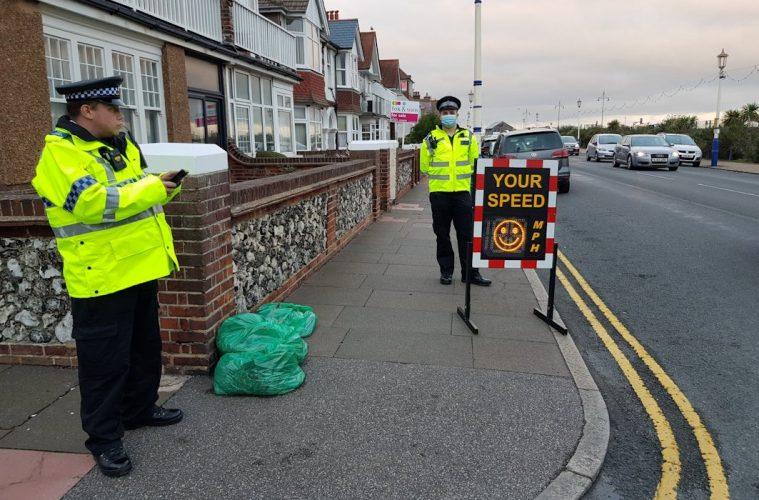 Police in Eastbourne step up patrols during October half term on Bournefree website