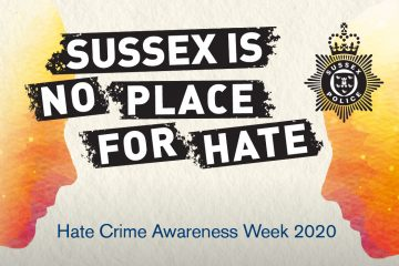 'Hate crime will not be tolerated in Sussex' – victims share their stories to raise awareness on Bournefree website