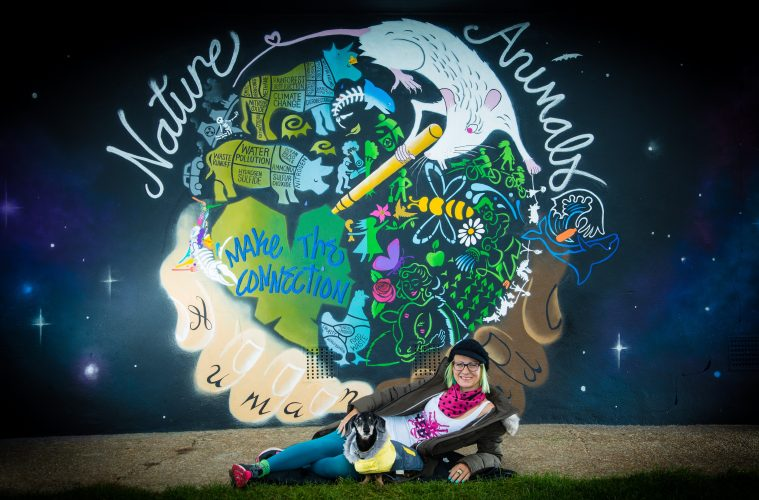 'Fragile world' mural at Hampden Park wins praise on Bournefree website