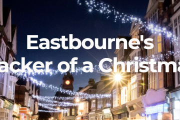 Eastbourne's Stephen Holt appears on GMTV with Christmas warning for shoppers on Eastbourne Bournefree website