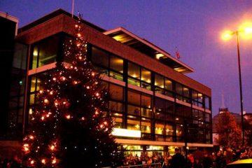 Eastbourne Tree of Light on Bournefree website