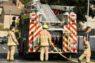 Fire at Stafford Junior School in Ringwood Road, Eastbourne on Eastbourne Bournefree website
