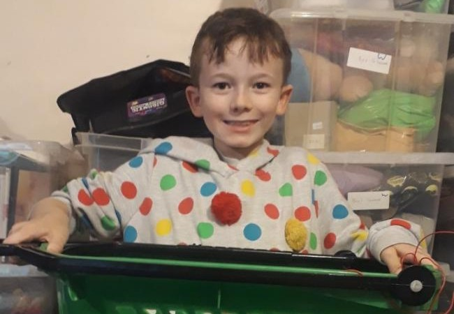 EASTBOURNE 10-YEAR-OLD LAUNCHES KAYDEN'S TREATS LOCKDOWN BUSINESS on Eastbourne Bournefree website