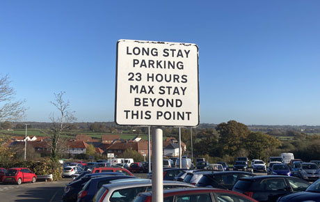 No enforcement in long stay parking areas during Lockdown on Bournefree website