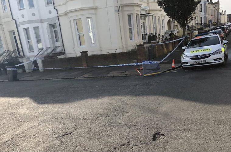 Man attacked this morning in Bourne Street, Eastbourne on Bournefree website