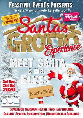 Santa is coming to Eastbourne.......... on Bournefree website