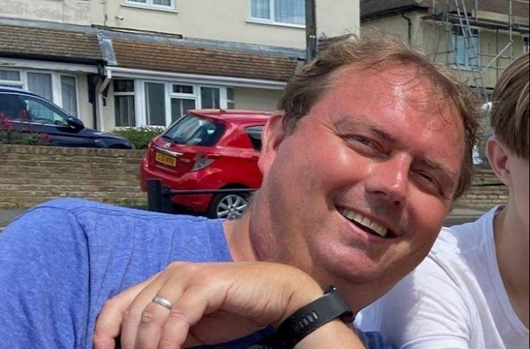 Stephen Drinkwater, 48, who is missing from his home in Kent. on Eastbourne Bournefree, he may be at Beachy Head