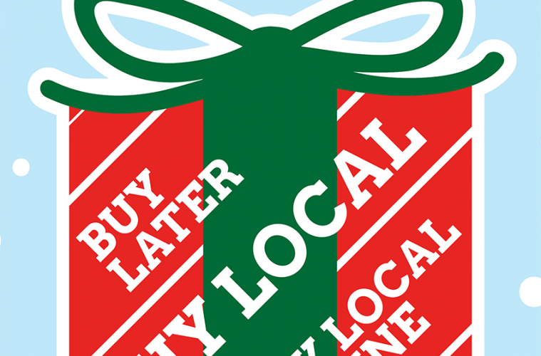 Supporting local shops to keep Christmas local in East Sussex, on Eastbourne Bournefree website